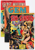 Golden Age (1938-1955):Miscellaneous, Comic Books - Assorted Golden Age Comics Group (Various Publishers, 1945-55) Condition: Average VG/FN.... (Total: 7 Comic Books)