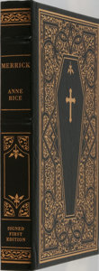 Books:Science Fiction & Fantasy, Anne Rice. SIGNED. Merrick. Franklin Library, 2000. First edition limited to 1500 copies signed by the author. P...