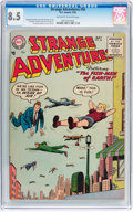 Golden Age (1938-1955):Science Fiction, Strange Adventures #56 (DC, 1955) CGC VF+ 8.5 Off-white to whitepages....