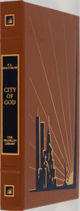 Books:Fiction, E. L. Doctorow. SIGNED. City of God. Franklin Library, 2000.First edition limited to 1100 copies signed by the ...