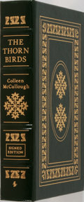 Books:Fiction, Colleen McCullough. SIGNED. The Thorn Birds. Easton Press,2005. Signed by the author on a special limitation pa...