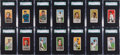 Baseball Cards:Sets, 1909-11 T206 White Borders Baseball SGC-Graded Partial Set (103)....