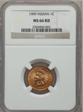 Indian Cents, 1909 1C MS66 Red NGC....