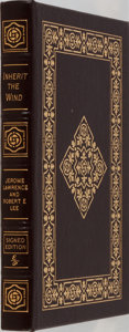 Books:Literature 1900-up, Jerome Lawrence and Richard E. Lee. SIGNED. Inherit theWind. Easton Press, 2000. Signed by the author (Jerome L...
