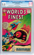 Silver Age (1956-1969):Superhero, World's Finest Comics #118 (DC, 1961) CGC VG- 3.5 Light tan to off-white pages....