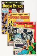Silver Age (1956-1969):Superhero, Doom Patrol #86-105 Group (DC, 1964-66) Condition: Average VG-.... (Total: 19 Comic Books)