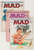 Magazines:Mad, Mad Magazine Group (EC, 1963-74) Condition: Average VG.... (Total: 16 Comic Books)