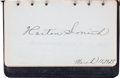 Autographs:Others, 1920's Golf & Tennis Legends & Stars Signed Autograph Album....