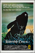 "Movie Posters:Animation, Watership Down (Avco Embassy, 1978). One Sheet (27"" X 41""). Animation.. ..."