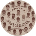 Baseball Collectibles:Pins, 1929 Chicago Cubs National League Champions Large Pinback. ...
