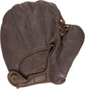 Baseball Collectibles:Others, 1890's Reach Button-Back Glove....