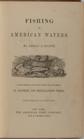 Books:Sporting Books, Genio C. Scott. Fishing in American Waters. American NewsCompany, 1875. Early printing. Illustrated. Publisher'...