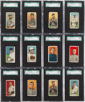 Baseball Cards:Lots, 1909-11 T206 White Border Partial Set (156) Plus Extras. ...