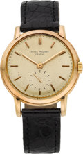 Timepieces:Wristwatch, Patek Philippe Ref. 2484 Rose Gold Wristwatch, circa 1958. ...