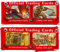 "Non-Sport Cards:Unopened Packs/Display Boxes, 1950/51 Topps ""Freedom's War"" Unopened 2-Card Panels Cello Packs(2). ..."