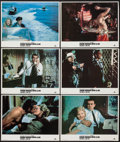 """Movie Posters:James Bond, From Russia with Love (MGM/United Artists, R-1984). Lobby Cards (6)(11"""" X 14""""). James Bond.. ... (Total: 6 Items)"""