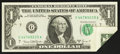 Error Notes:Foldovers, Fr. 1907-G $1 1969D Federal Reserve Note. Extremely Fine.. ...