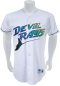 Baseball Collectibles:Uniforms, 1998 Fred McGriff Game Worn Tampa Bay Devil Rays Jersey. ...