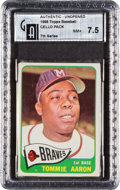 Baseball Cards:Unopened Packs/Display Boxes, 1965 Topps Baseball 7th Series Cello Pack GAI NM+ 7.5. ...