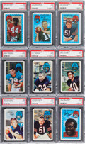 Football Cards:Sets, 1970 and 1971 Kellogg's Football Complete Sets (2). ...