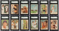 Baseball Cards:Sets, 1959 Fleer Ted Williams Complete Set (79) - Every Card Graded! ...