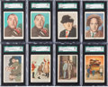 Non-Sport Cards:Lots, 1959 Fleer Three Stooges Collection (55). ...