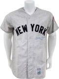 "Autographs:Jerseys, Early 1990's Mickey Mantle ""No. 7"" Signed Jersey...."