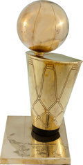 Basketball Collectibles:Others, 2000-02 Los Angeles Lakers Larry O'Brien Replica NBA Championship Trophy....