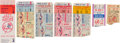 Baseball Collectibles:Others, 1951-76 New York Yankees World Series Ticket Stubs Lot of 5....