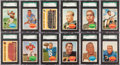 Football Cards:Sets, 1960 Topps Football High Grade Complete Set (132) - Almost 90Graded Cards! ...