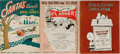 Books:Music & Sheet Music, [Sheet Music]. Li'l Abner, Charlie Brown, and Other. Group of ThreeVolumes. Various publishers, 1942-1967. General light ru... (Total:3 Items)