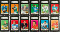 Football Cards:Sets, 1969 Topps Football High Grade Complete Set (263) With 167 SGCGraded Cards! ...