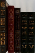 Books:Americana & American History, [American History]. John Adams, Benjamin Franklin, and Others.Group of Four Titles in Five Volumes Published by Easton Press....(Total: 5 Items)