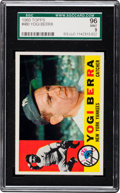 Baseball Cards:Singles (1960-1969), 1960 Topps Yogi Berra #480 SGC 96 Mint 9 - Pop One, None Higher! ...