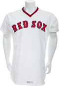 Baseball Collectibles:Uniforms, 1978 Ted Williams Game Worn Boston Red Sox Coach's/Old TimersUniform....