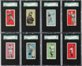 Baseball Cards:Sets, 1911 E100 Bishop & Co. Type 1 Baseball Near Set (29/30) WithWeaver! ...