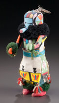 American Indian Art:Kachina Dolls, A ZUNI COTTONWOOD KACHINA DOLL...