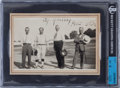 Baseball Collectibles:Photos, Circa 1940 Cy Young Signed Photograph. ...