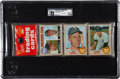 Baseball Cards:Unopened Packs/Display Boxes, 1968 Topps Baseball 1st Series Rack Pack GAI NM-MT+ 8.5 - WithTommy John Showing. ...