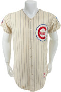 Baseball Collectibles:Uniforms, 1968 Vic LaRose/Bobby Tiefenauer Game Worn Chicago Cubs Jersey....