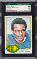 Football Cards:Singles (1970-Now), 1976 Topps Walter Payton #148 SGC 98 Gem 10....