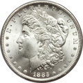 Morgan Dollars, 1885-CC $1 MS66+ PCGS. CAC....