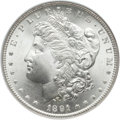 Morgan Dollars, 1891-S $1 MS66 NGC....