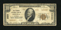 National Bank Notes:Alabama, Opelika, AL - $10 1929 Ty. 2 The Farmers NB Ch. # 9550. The Type 2 is a much scarcer find from this bank, so this origin...