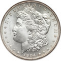 Morgan Dollars, 1904-S $1 MS65 NGC. VAM-1A....