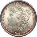 Morgan Dollars, 1881 $1 MS66 PCGS....