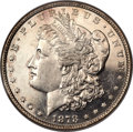 Morgan Dollars, 1878 8TF $1 MS64 Deep Prooflike NGC. VAM-14.6....