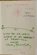 Books:Science Fiction & Fantasy, Ray Bradbury. INSCRIBED. Dandelion Wine. Knopf, 1975. Reissue edition, first printing. Signed and inscribed by...