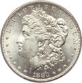 Morgan Dollars, 1880-O $1 MS64+ PCGS. CAC....