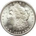 Morgan Dollars, 1893 $1 MS64+ PCGS. CAC....